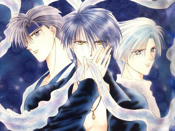 Les 3 hommes du manga: Toya, Haki et Yuuhi