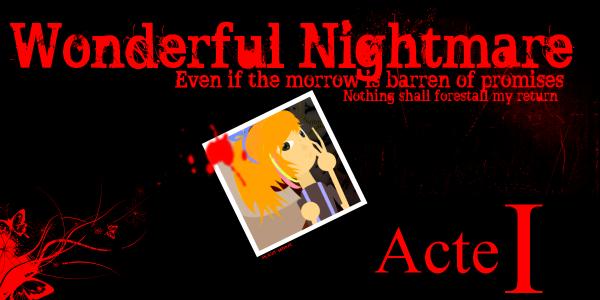 Wonderful Nightmare - Affiche