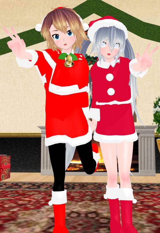 Merry Chirstmas - With Shinzou & Gin-