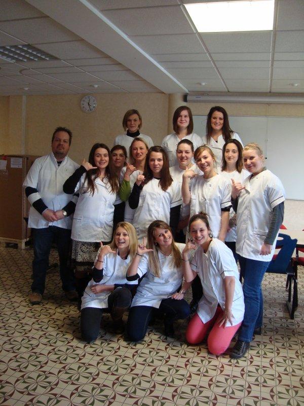 L'Equipe Franco-Marocaine pour deux Semaines d'Immersion !