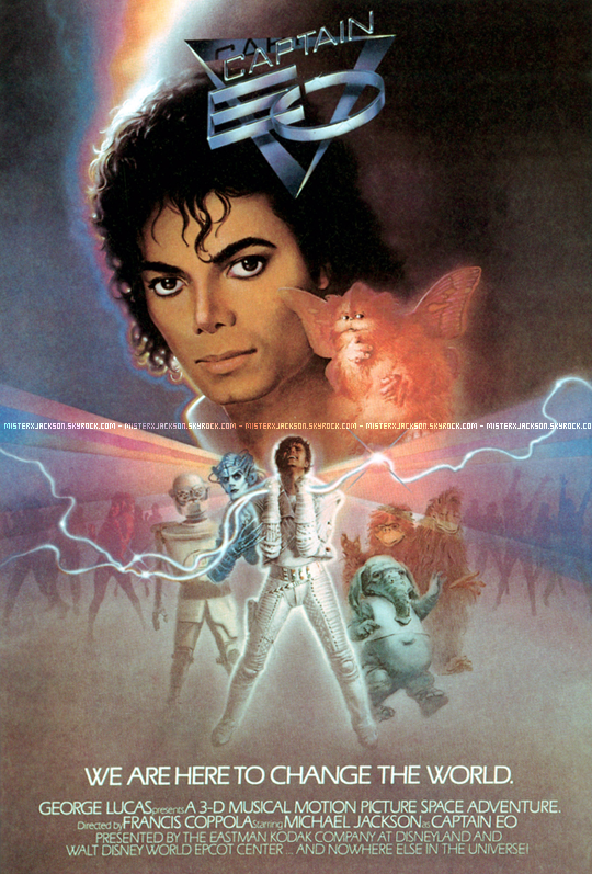 Captain EO, le court métrage.