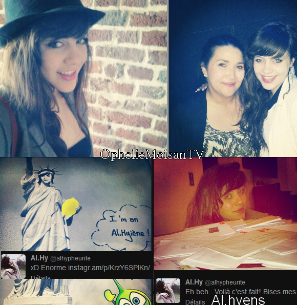 20/05/2012: Nouvelle Photos sur Twitter