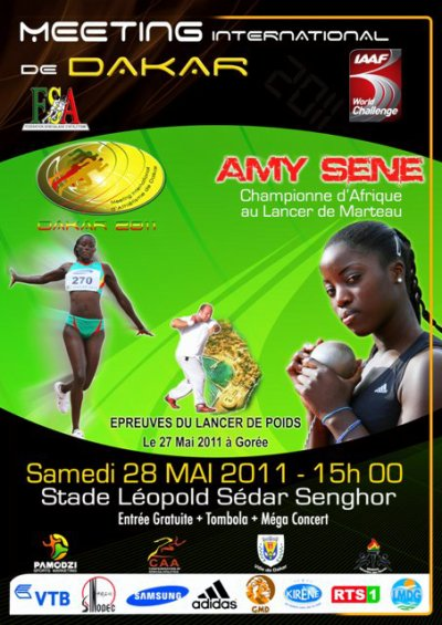MEETING GRAND PRIX IAAF DE DAKAR 2011