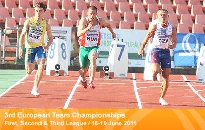 European Team Championships First, Second & Third League