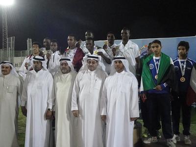 اكتساح سعودي لبطولة الخليج الثاثة عشر للشباب