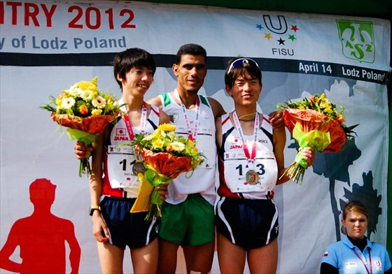 TOUIL ABDELMADJID CHAMPION DU MONDE UNIVERSITAIRE DE CROSS