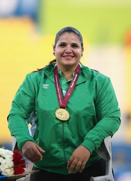 Deux médailles pour l'Algérie aux Jeux Paralympiques 2016 au lancer de Poids F56/57