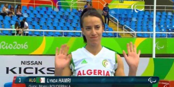 L'ALGERIENNE HAMRI LYNDA GAGNE LE BRONZE AUX JEUX PARALYMPIQUES 2016