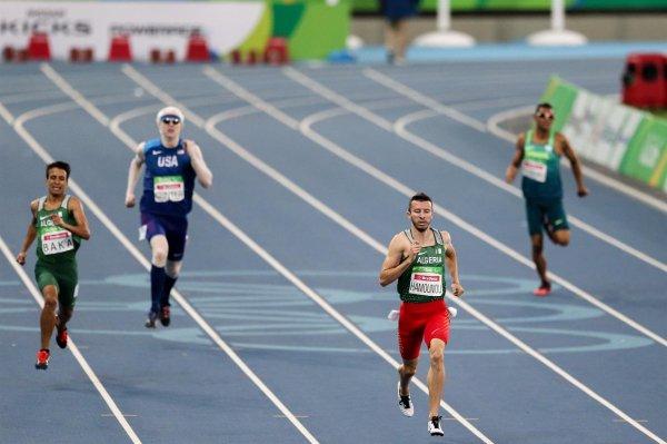 HAMOUMOU GAGNE LE BRONZE DES JEUX PARALYMPIQUES 2016 SUR LE 400m
