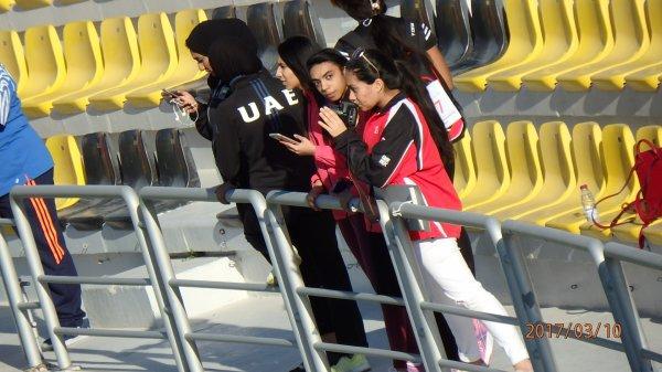 Photos des Championnats du Golf d'athlétisme Dames à Doha (9-11/03/2017)