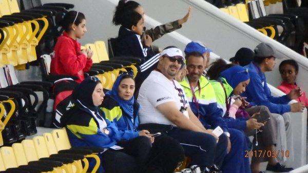 Autres photos des championnats du Golf d'athlétisme dames à Doha (2017)
