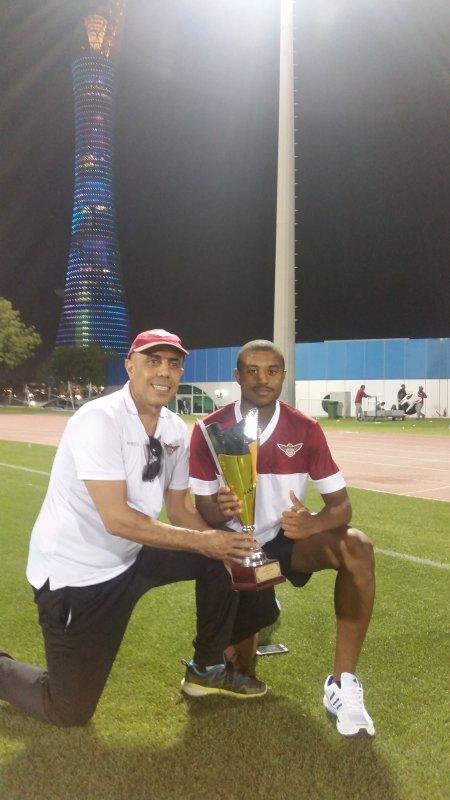 أواب بررو يحقق رقم قطري جديد للشباب في 110م/ح خلال بطولة العالم 2018 بفنلندا