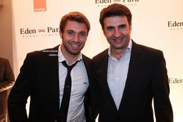 Vincent ainsi que plusieurs autres joueurs étaient présent aux Oscars du Rugby.