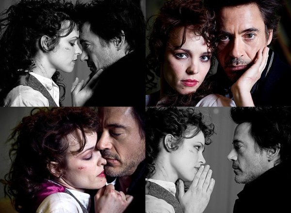 Rachel McAdams & Robert Downey Jr.