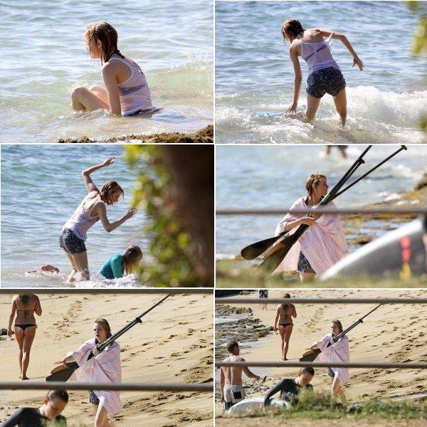 Emma Stone & Robert Downey Jr.