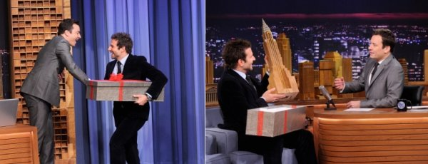 Ryan Gosling, Robert Downey Jr & Bradley Cooper.