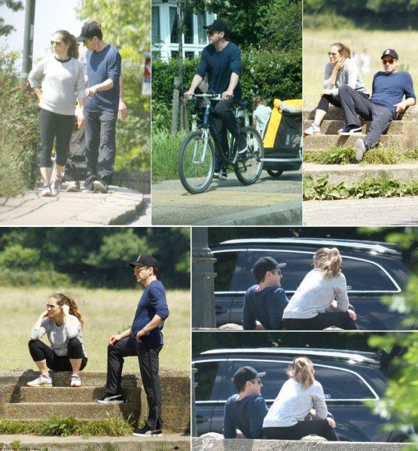 Emma Stone; Robert Downey Jr & Bradley Cooper.