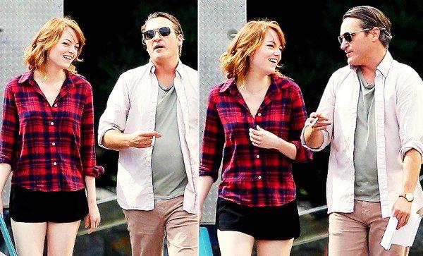 Bradley Cooper & Emma Stone.
