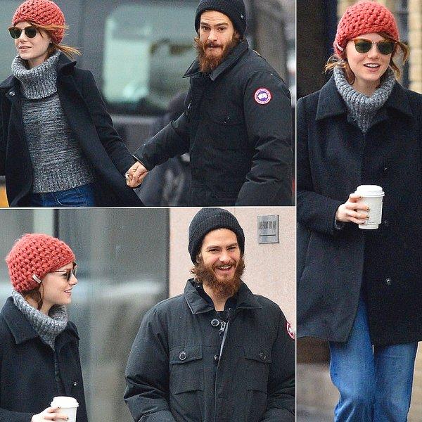 Emma Stone & Bradley Cooper.