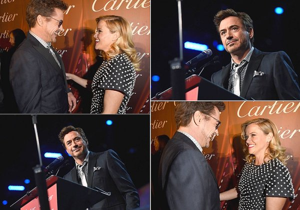 Emma Stone & Robert Downey Jr.