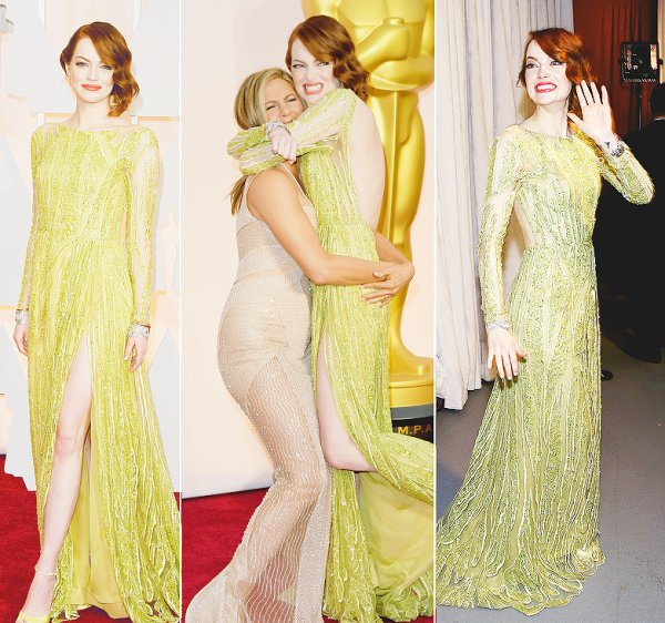 Emma Stone & Dakota Johnson.