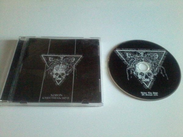 Szron / Kriegsmaschine - Ad Majorem Satanae Gloriam [Split CD]