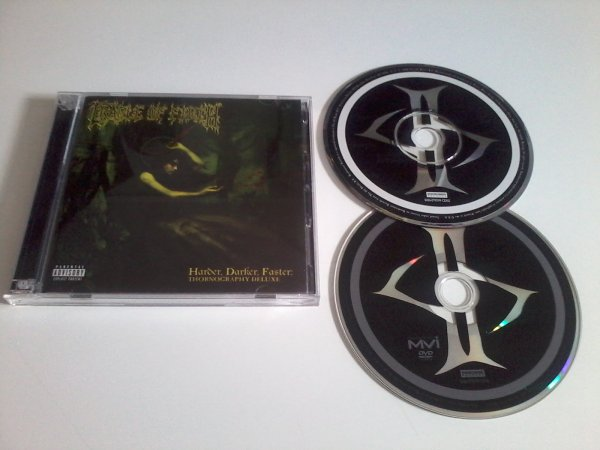 Cradle Of Filth - Harder, Darker, Faster : Thornography Deluxe