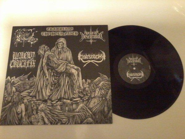 Profanatica / Unholy Crucifix / Nuclear Desecration / Goatsodomy - Trampling The Holy Faith