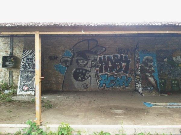 graff la courouze artiste:AEON crew:CTS