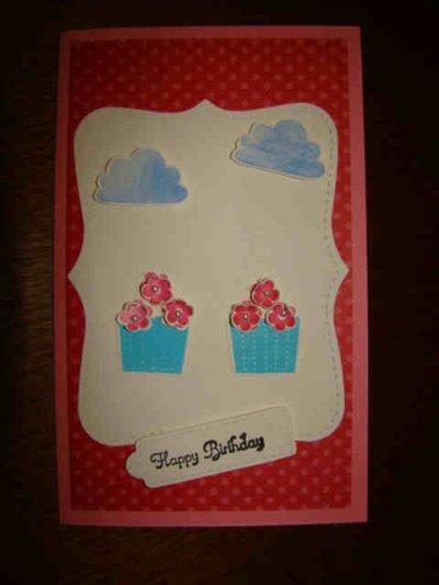 cartes d'anniversaires pour Jaqueline et sylvie