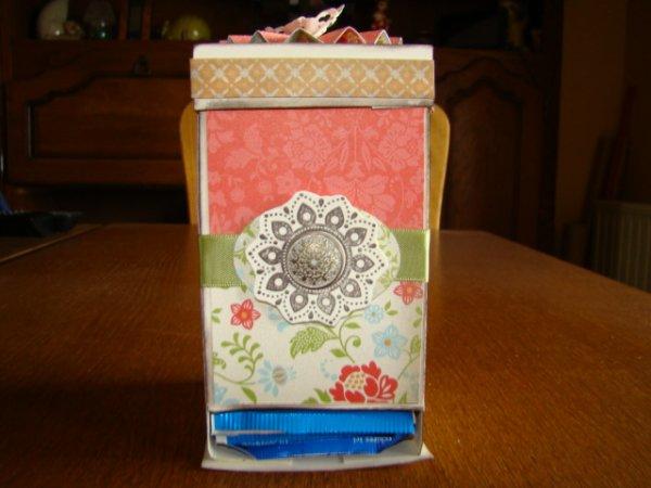 boite a thé exposé lors de notre expo