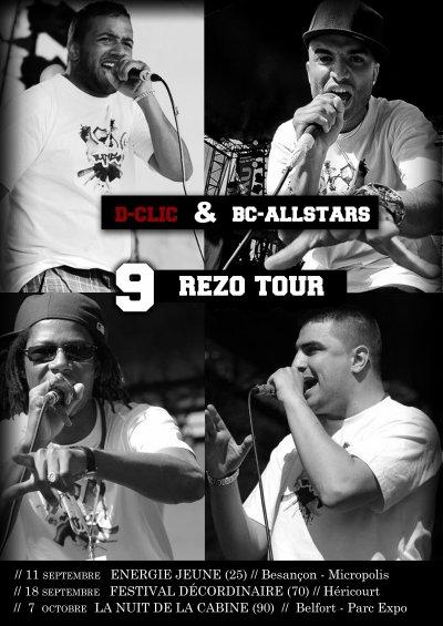 LE 9 REZO TOUR PASSE CHEZ VOUS!!!!!!!!!!!!!!!