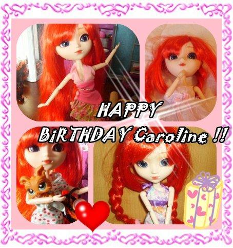 Joyeux Anniversaire Caroline Le Cocon Douillet C