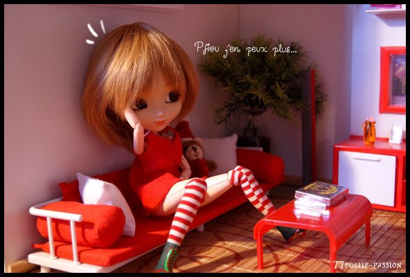 Nina prépare Noël...