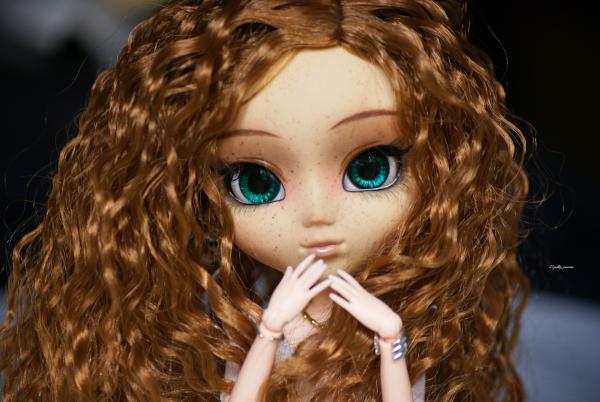Myu et sa nouvelle wig ! ♥