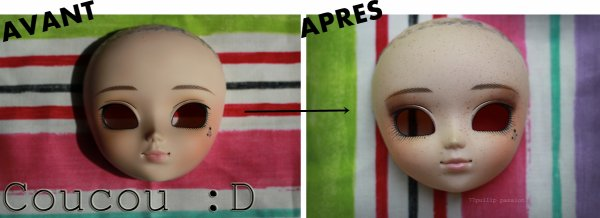 Ma première commission make-up ^.^ ♥