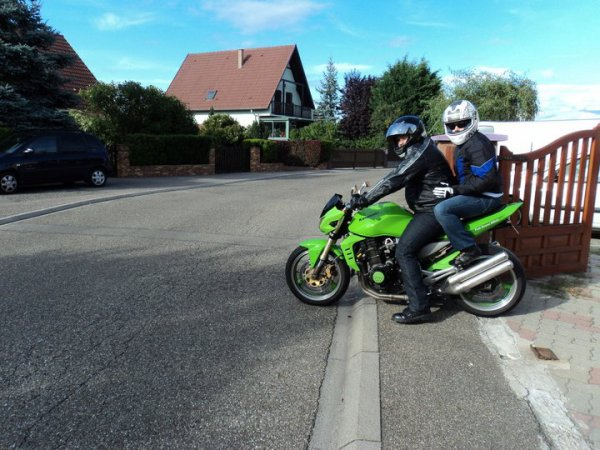 sortie moto avec mon homme