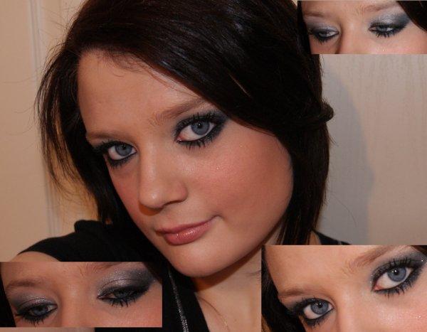 petite scéance de maquillage ^^ aprés une nouvelle coiffure et des nouveaux vetements un nouveau look lol