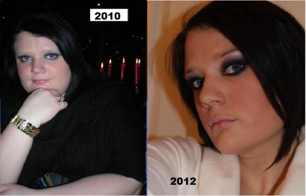 2 ans aprés ... -66kg .... la moitié de mon poids de perdu ...