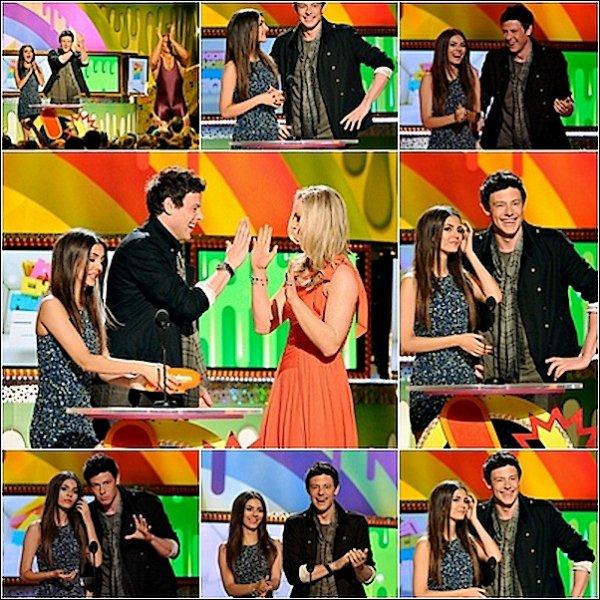 .02.04.2011 : Victoria était a la 42ème cérémonie des « Kids Choice Award » .