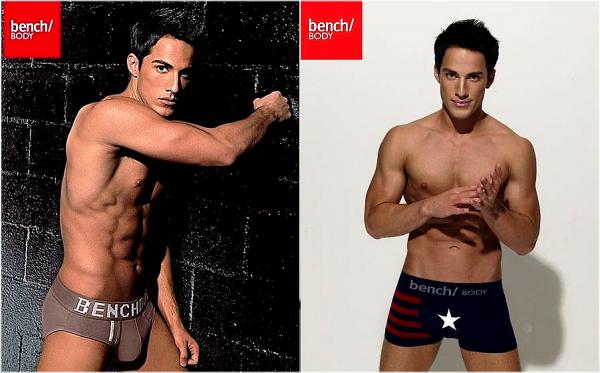 *  Photoshoot :Michael pose en sous-vêtements pour la marque« Bench » dont il est l'égérie ! Que pensez-vous du photoshoot ?  *