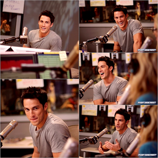 *  Flashback 10.10.11 : Michael a la radioaméricaine « On air with Ryan Seacrest ».  *
