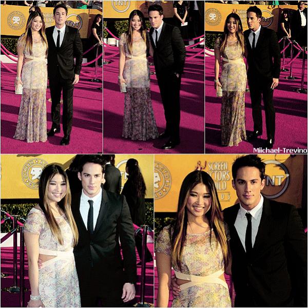 """* Events 29.01.12 : Michael en compagnie de sa petite amie Jennasur le tapis rouge des """"Screen Actors Guild Awards"""" à L.A. *"""