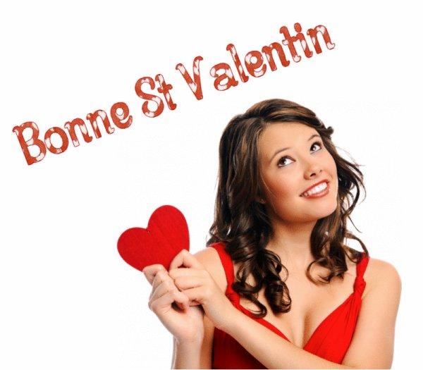 bonne fete de saint-valentin♥♥