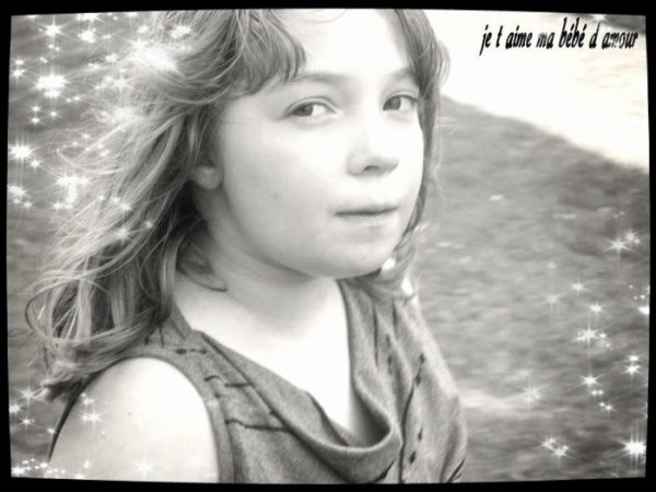 Ma petite soeur, mon petit coeur, mon plus beau cadeaux de l'an 2005