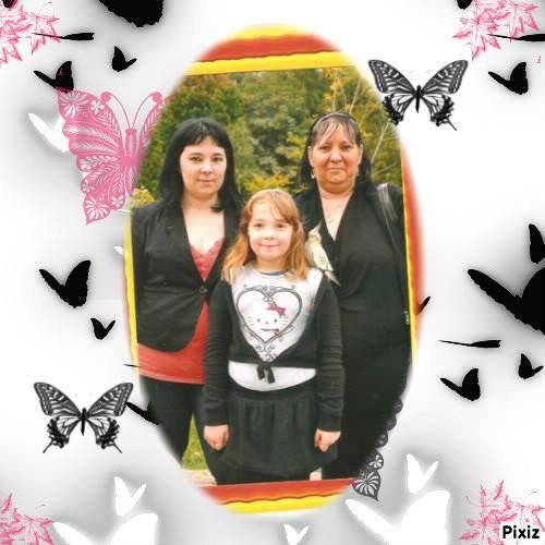 Journée à Bagatelle avec ma mère et ma petite soeur
