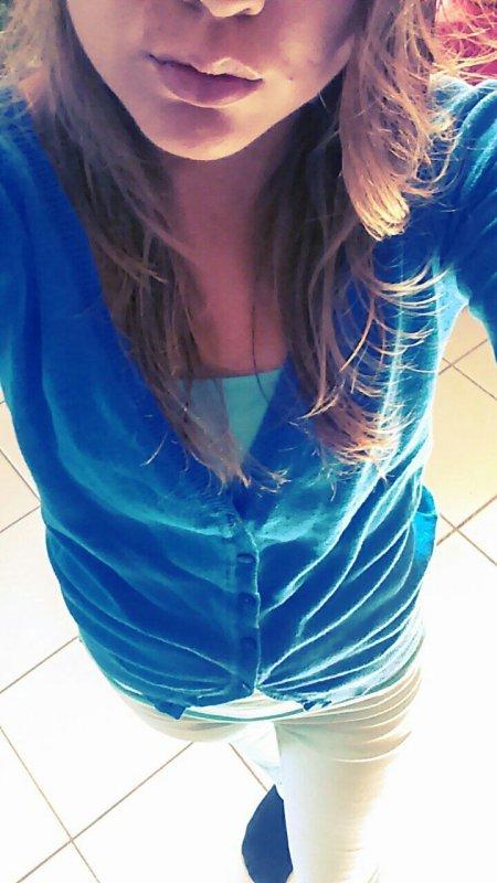Aujourd'hui je vois la vie en bleu