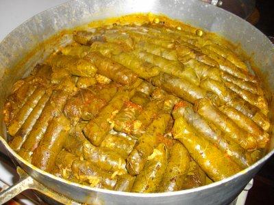 Feuilles de vigne ou sarma cuisine turque entre autre - Recettes de cuisine turque ...