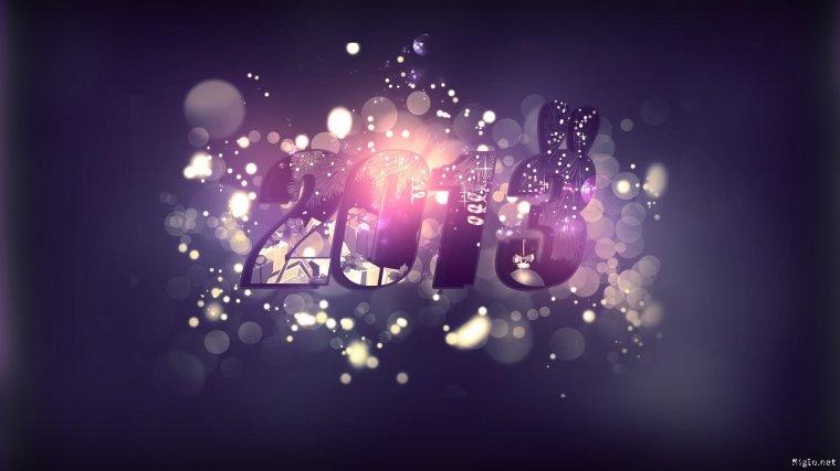 Que 2013 soit ton année, que le bonheur soit ton allié, que le sourire soit ton invité et que la joie embellisse tes soirées