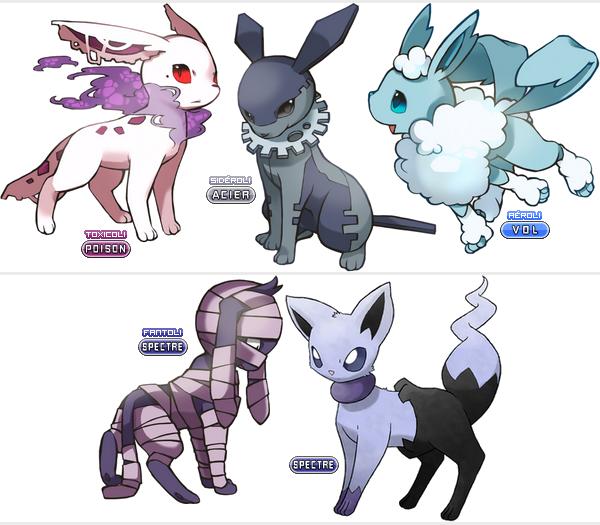 Les meilleurs evolutions m ga evolutions invent d 39 evoli - Carte pokemon fee ...